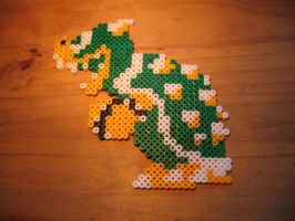 Bowser perler by Pirate-Ken