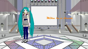 MMD newcomer: Miku in a dress by Pin-Zi