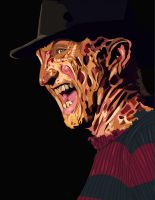 Freddy Krueger by dinkens