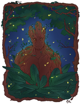 Groot by strawberry-mint