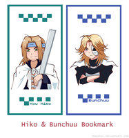 Hiko and Bunchuu Bookmark by Sacchii