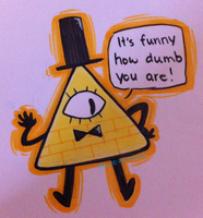 Bill Cipher! by Blue-Hoodie