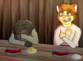 IT'S JUST TOMATO SOUP? by PurpleCookieCat