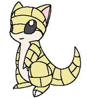 Sandshrew by Mystical-Kitsune