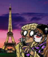 French Kiss by squid1girl
