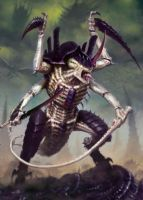 Tyranid Hive Tyrant Artwork by Zergwing