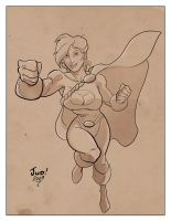 Powergirl by judson8