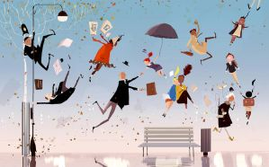 The day gravity stopped working. by PascalCampion