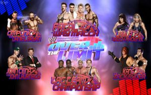 WWE Over the Limit 2012 Card by Mr-Enjoy