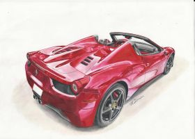 Ferrari 458 Spider by MGLola