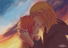 Kiss on the sunset - original version by HanzaLee