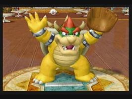 Bowser's Strikeout Pose by silverhammerbro
