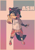 Commission_Ash by DrewGreen