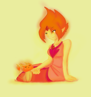 AT Flame princess by TiaBlackRaven