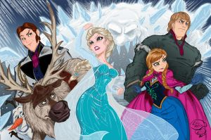 Frozen Colors Low Res by BDixonarts