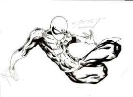 Spider-man Exaggerated by ParisAlleyne