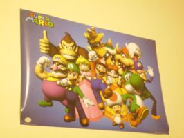 MB64's Super Mario Poster by MarioBlade64