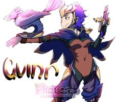 Speed paint02 Paint Tool SAI - Fanart Quinn by Pharos-E