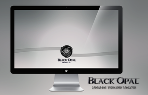 Black Opal Wallpaper by miguelsanchez666