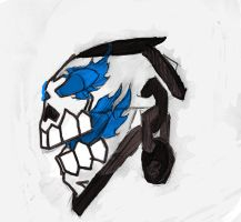 Death Knight Crest Coloured by Ashenrune