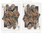 Card Art - The Jack of Clubs by wylielise