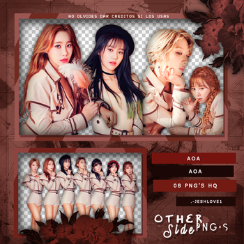 AOA[Angel's Knock] PNG PACK P.1 by UpWishColorssx