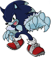 Sonic the Werehog by Happy-Food