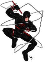 Shadowland Daredevil by Kaufee