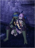 .:TMNT Dont Worry:. by Dawnrie