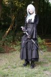 Gothic3 with sword 1 by Noirin-Stock