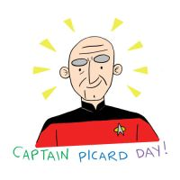 Captain Picard Day by TRAVALE
