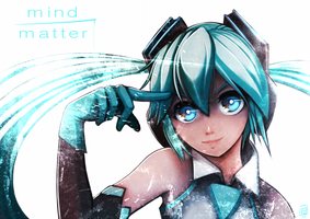 MIND over MATTER by FixelCat