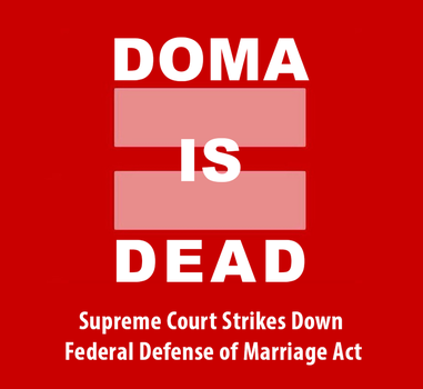 DOMA is Dead! by BenjaminTDickens