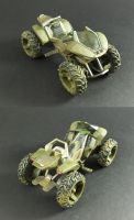 Custom Mcfarlane Mongoose by Tekka-Croe