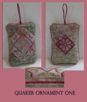 Quaker Ornament One by Mattsma