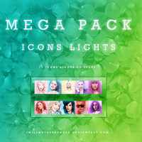MEGA PACK ICONS LIGHTS by Mylifeisabook