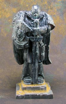 Ancient Space Marine Statue by Girot