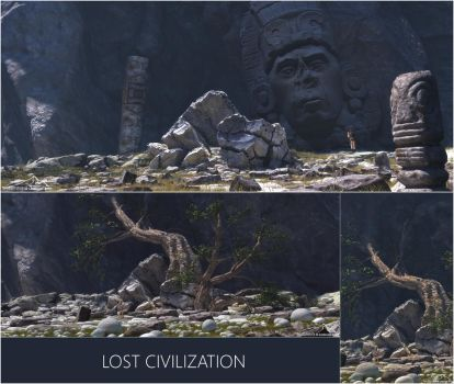 Lost Civilization by 3DLandscapeArtist