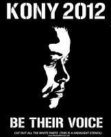Kony 2012 Women Stencil Poster Resource kony2012 by 5starbrand