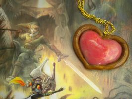 Heart Container Necklace - LoZ by Noviel