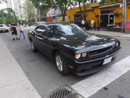 The Challenger At Yonge And Maitland #1 by Neville6000
