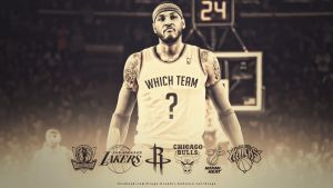 Carmelo Anthony Which Team Wallpaper by EsegaGraphic