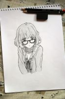MIRAI KURIYAMA (Traditional) by Zer0-Slayer