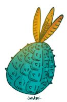 20.04.12. A pinneapple by juandapo