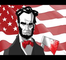 Abe Lincoln Vampire Hunter by jdcunard