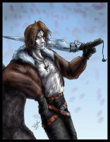 Squall- Reluctant hero by Destinyfall