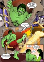 The Incredible Hulk: Red Alert Page 16 by MikeMcelwee