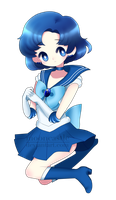 Sailor Mercury by MilkPeach