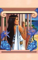 Egyptian Book cover by bookstoresue