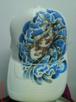 Jap Koi on Cap by terryrism